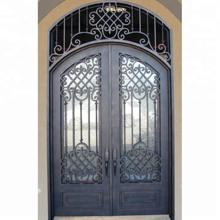 casting aluminum double entry doors, aluminum alloy swing security door