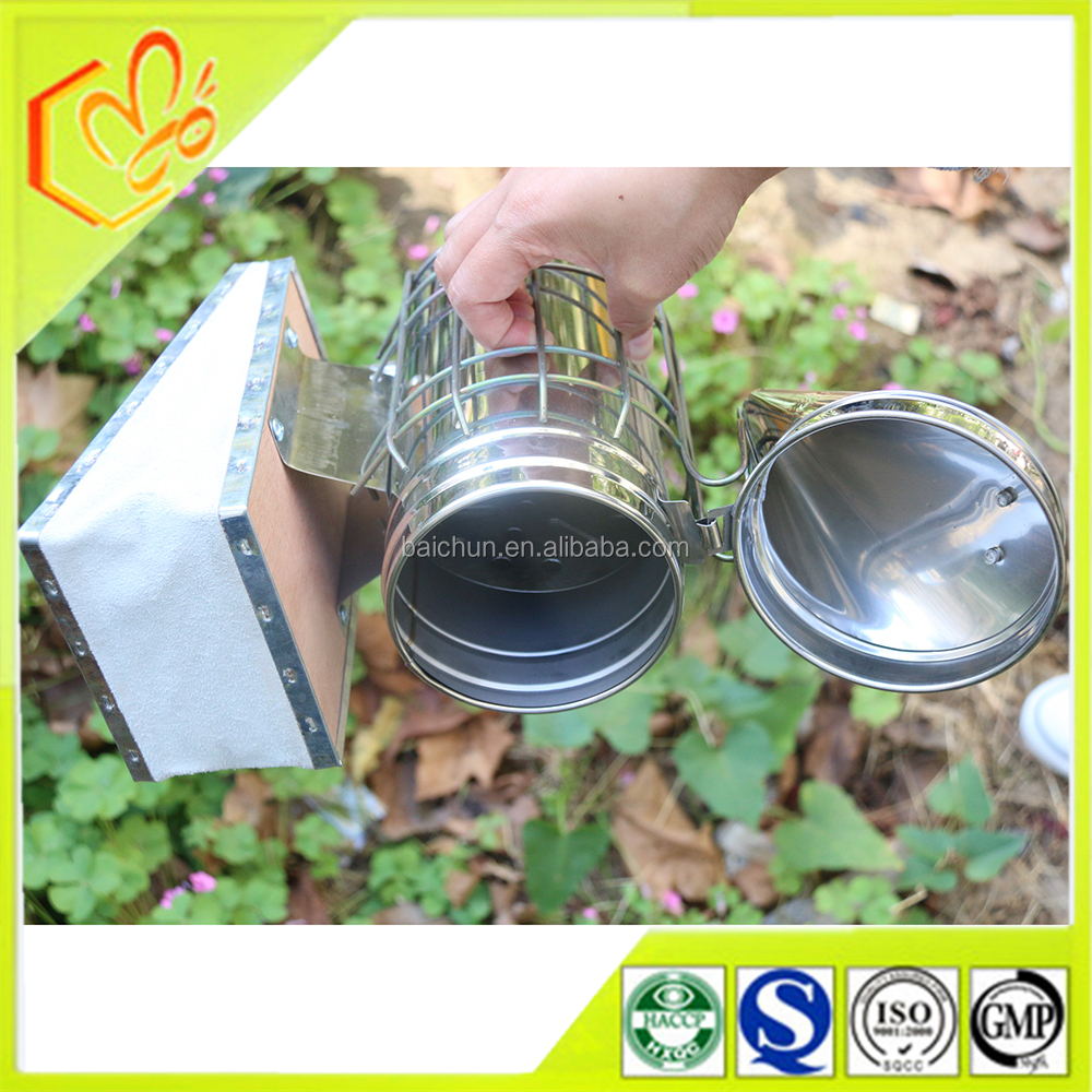 factory price honey bee smoker/stainless steel beekeeping smokers to worldwide