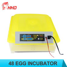 98% hatching rate commercial solar chicken egg incubator for 48 eggs CE approved
