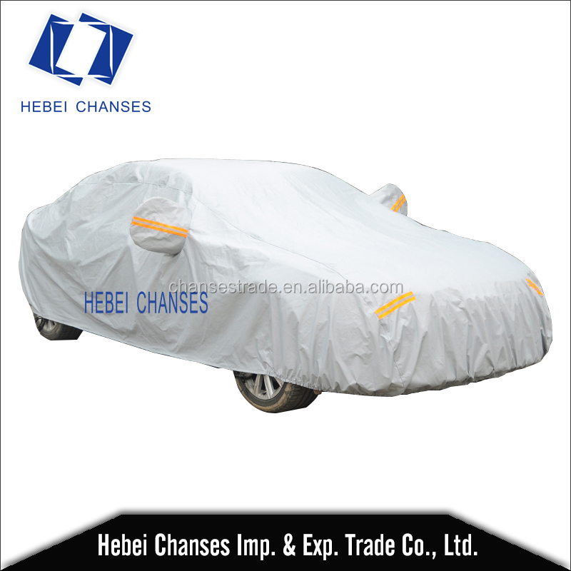 Chanses car cover universal sedan outdoor protect indoor water sun proof car cover