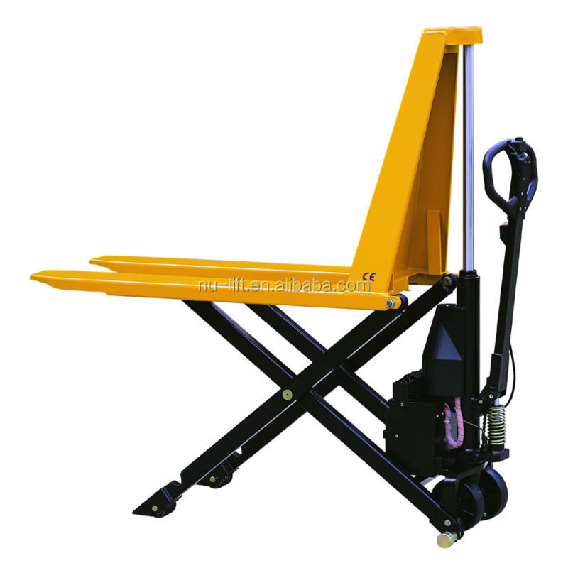 Electric Hydraulic High Lift Scissor Truck