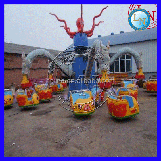 Fun City Games for Adult Amusement Octopus Rides