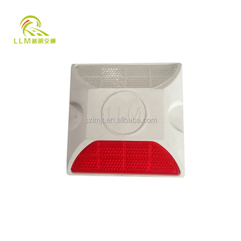 High brightness PMMA reflective lens plastic road safety cat eye reflectors