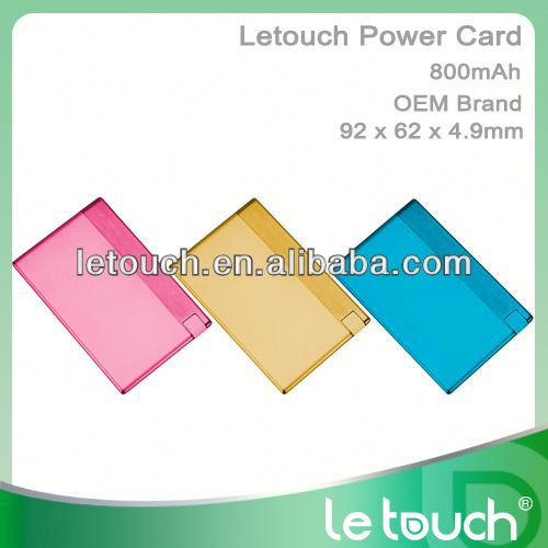 Le Touch World Thinnest Power bank Just like carrying name card holder