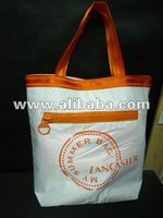 lady tote beach bag
