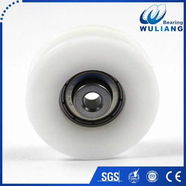 China high quality 625zz plastic garage sliding door roller