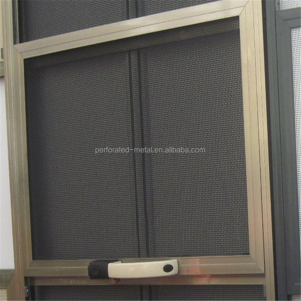 Decorative stainless steel metal window and door screen for Window mesh screen