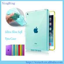 Ultra slim back cover for ipad pro,transparent tpu for ipad pro case
