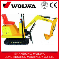 Wolwa brand electric mini new toy excavator for kids with mini excavator bucket cheap price for sale