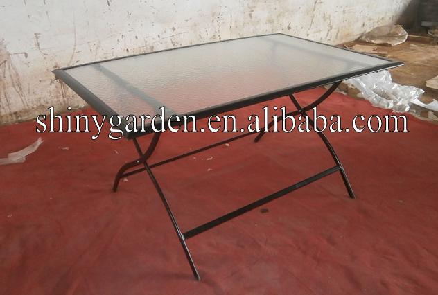 접이식 식탁 세트 6 의자, 정원 가구 야외, 테이블 의자 resturant ...