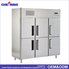 6 doors commercial refrigerator , used fridge freezers