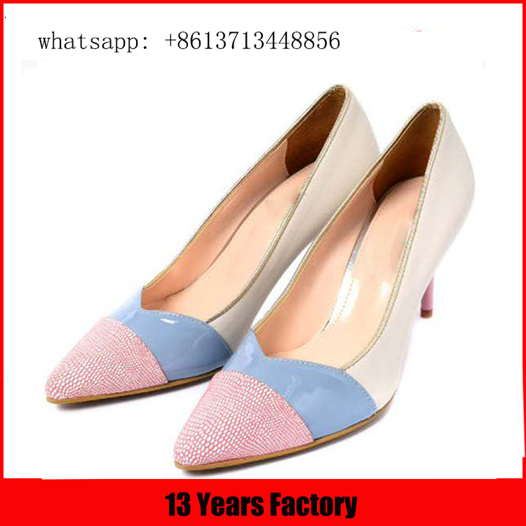 Three color and upper strange butterfly high heels shoes wholesale beautiful classy sexy women dress shoe
