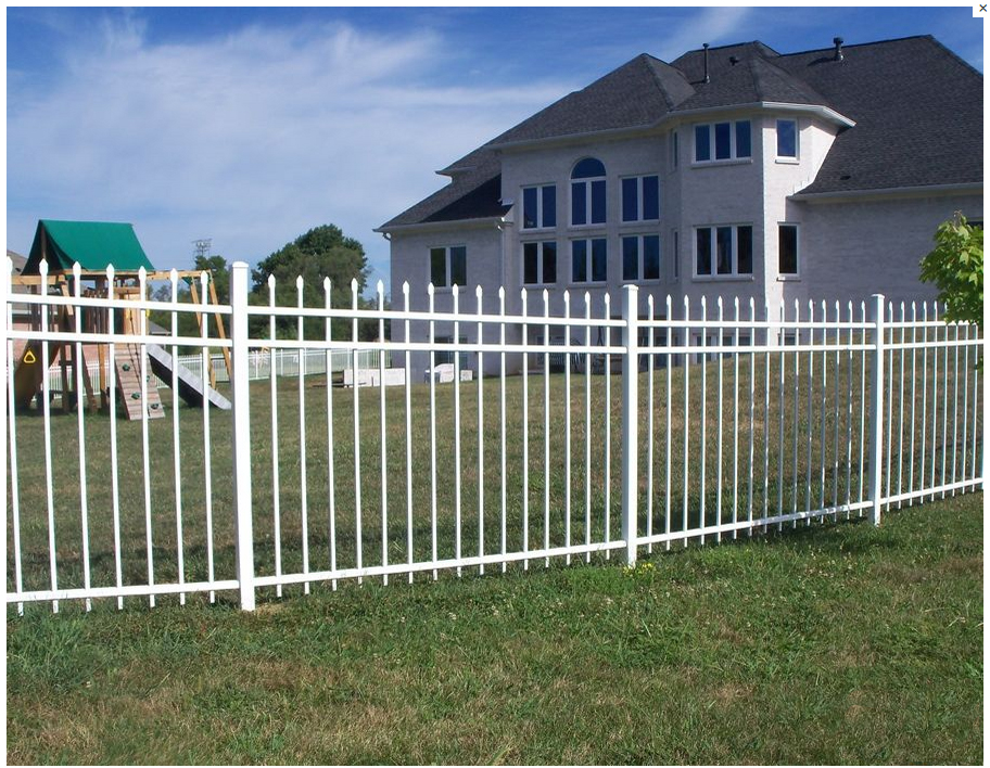 waterproof fence/ Galvanized High Security Fence System@wrought iron picket fences@Professional factory high quality supply fen