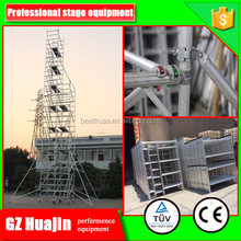 1.35m cuplock scaffold system types of scaffolding
