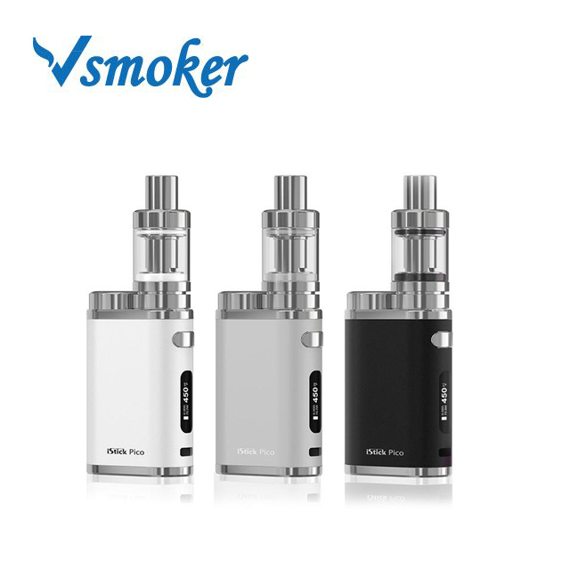 2018 E Cigarette Factory Cheap Price Vape Mods Eleaf Istick Pico 75W Kit With Melo 3 Atomizer Tank