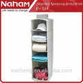 NAHAM home organizer Hanging 5 Shelves Folding Hanging Organizer