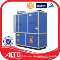 Alto A-1200 duct type us air dehumidifier sale to Malaysia and wet climate area 1200 liter per day desiccant dehumidifier