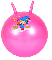 25 Inch Inflatable Jumping Ball With Two Handles