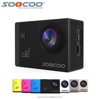 SOOCOO C30 2.0 Inch Ultra HD NTK96660 Action Camera 4K 20MP 70-170 Degree Wide-angles Available