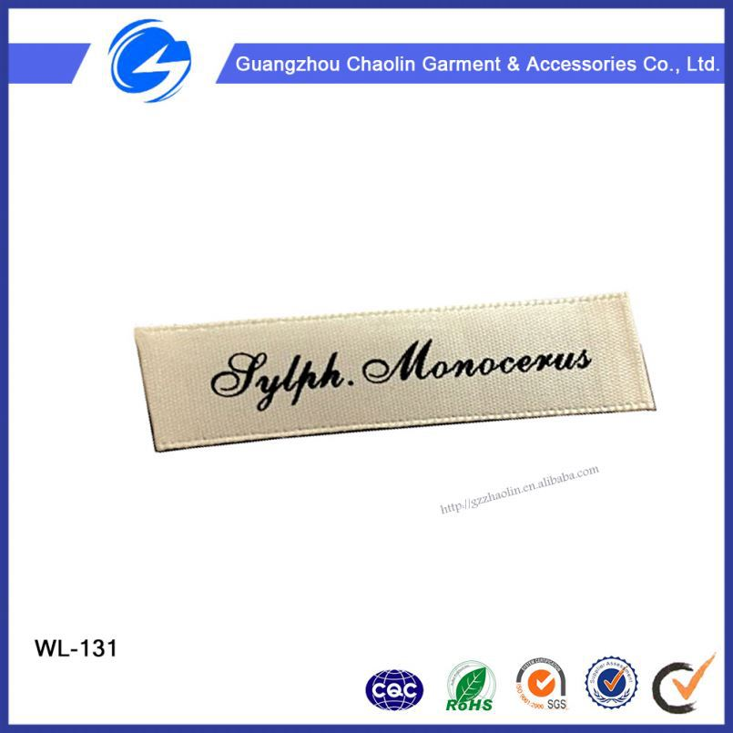 China Directly Factory Custom Plant Cheap Handmade Clothing Woven Label Cheap Clothing Woven Label Of Graded Goods