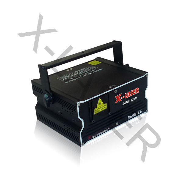 2W rgb pub laser stage lighting projector