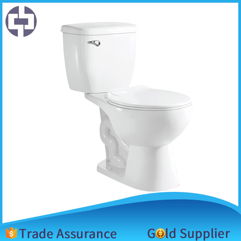 High quality S-trap 300mm ceramic Sanitary ware Siphon Side single flush valve button two piece from Alibaba Manufacturer