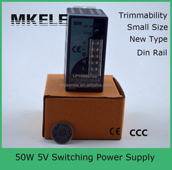 din rail LP-50-5 50w 5v 8a switching power supply switching power supply