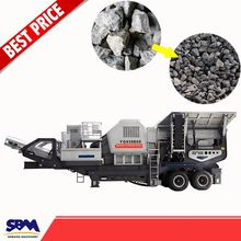One year quality guaranteed mobile rock crushing machine for sale
