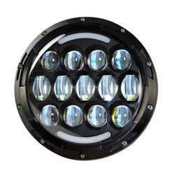 1 piece Harley motorcycle Sale 7inch 78W 3200LM LED wrangler lamp / headlight for jeep accessories electric bike