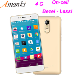 High Quality New Product!5.0 Inch MTK6737 RAM 2GB ROM16GB Fingerprint Unlocked Android Make Your Own Brand Phone 4G Mobile Phone