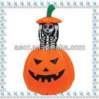 2013 hot sale inflatable halloween decoration pumpkin