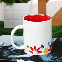 11oz top grade heat sensitive transfer coated blank white sublimation ceramic mugs