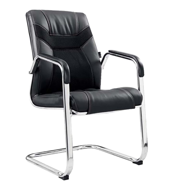 E43A Good quality black executive chair leather