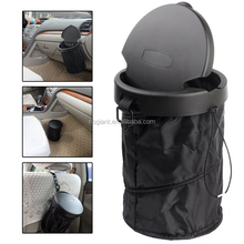 GTC 0202 Universal Traveling Collapsible Pop-up Trash Bin Foldable Portable Car Trash Can With cover