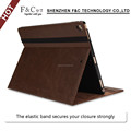 Smart flip cover for ipad pro12.9 inch pu leather tablet pc case