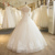 SL-19 High Quality Scoop Neck Tulle Lace Appliques Beaded Wedding Dress 2016