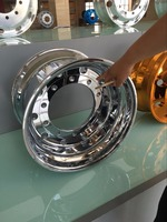 truck wheel rim aluminum wheel polish machine