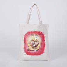 Blank Canvas Cotton Tote Bag