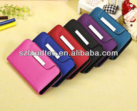 Luxury 8 Various Colour PU Slim Thin Leather Flip Case Cover for New Apple iPhone 5C