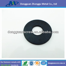 Carbon steel black oxide plain washer
