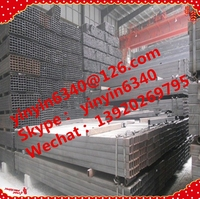 On sale High quality Rectangular Galvanized steel Pipe inner tube manufactures for grenhouse best china price !!!