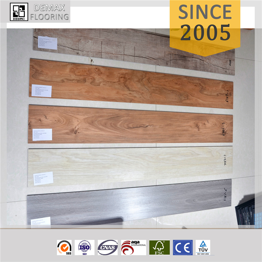 water resistant PVC wood look vinyl flooring