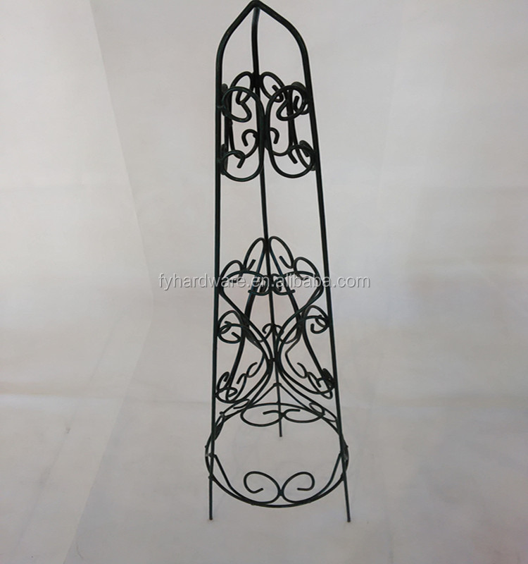 good quality metal garden flower support