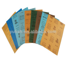 LATEX WATERPROOF ABRASIVE PAPER,ALUMINIUM OXIDE SAND PAPER,SILICON CARBIDE SANDPAPER
