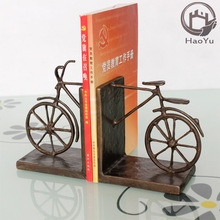 The Bike cast iron bookends arts and craft custom bookend use for library bookend