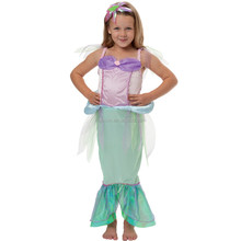 Mermaid Fancy Dress Up Halloween Costume Fabricantes China