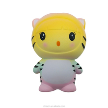 2018 Fast delivery Antistress cat squishies new design tiger squishy
