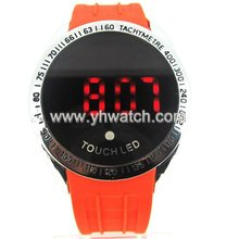 fashion silicone pedometer bracelet watch orologi watch ladies