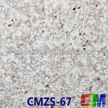 CMZS-67 Imitate granite rough texture decorative paint for interior and exterior wall