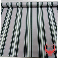 green and white stripes awnings fabric